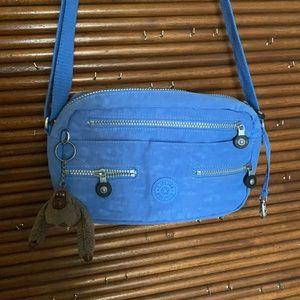 Kipling blue crossbody bag